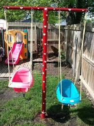 Diy Backyard Swing Set Diy Playground Equipment U2013 Affordinsurrates Com