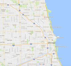 Bucktown Chicago Map by Wicker Park