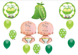 two peas in a pod baby shower new two peas in a pod baby shower balloon