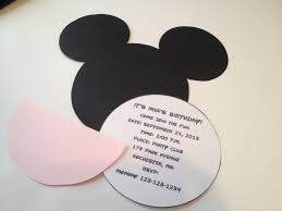 17 best ideas about mickey mouse invitation on pinterest mickey