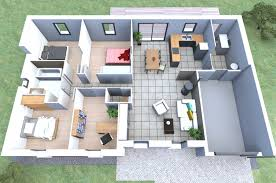 plan de maison gratuit 4 chambres construction de maison contemporaine à pin 101 m2 4 chambres