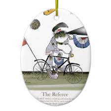 football referee tree decorations ornaments zazzle co uk