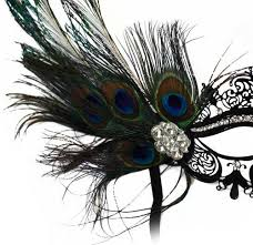 peacock masquerade mask corrine laser cut metal black venetian women s masquerade mask w