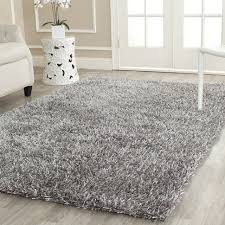 Metallic Area Rugs Rugs Curtains 8 Ft X 10 Ft Grey Metallic Shag Area Rug For