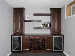 furniture great ideas corner wet bar cabinets with wine rack and