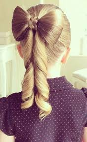 bow hair how to make the hair bow bow ponytail ponytail and