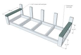 porch building plans white large modern porch swing or bench diy projects