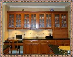 frosted glass kitchen cabinet doors table accents microwaves