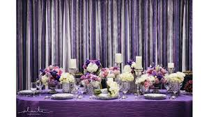 purple decorations purple wedding decorations