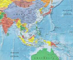 Monsoon Asia Map by Asia Continent Asia Map List Of Countries In Asia Einfon