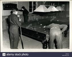 1968 enjoying a game of snooker in the prison recreation room