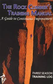 the rock climber u0027s training manual three season training log