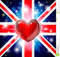 love uk flag heart background royalty free stock images image