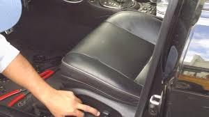 Car Interior Cloth Repair Lexus Is300 Driver Seat Leather Upholstery Repair By Froggy Youtube