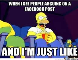 Memes About Facebook - facebook arguments by feedtheyak meme center