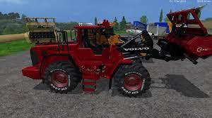 2015 volvo tractor wheelloder u0027s lantmannen volvo 180fv3 eagle355th 3 pack v1 0 fs