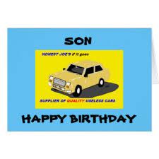 stepson birthday cards greeting u0026 photo cards zazzle