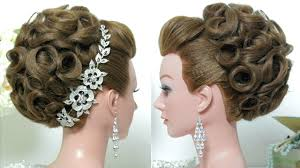 bridal hairstyles bridal hairstyle wedding updo for hair tutorial