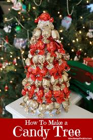 candy christmas tree how to make a candy tree using a styrofoam cone tree form