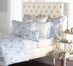 nancy koltes linens acanthus printed cotton sateen duvet u0026 shams