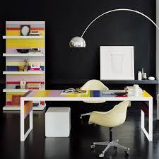 executive desk laminate contemporary commercial stripes