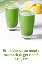 drink this on an empty stomach to get rid of belly fat glamour