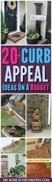 20 easy diy curb appeal ideas on a budget diy backyard ideas