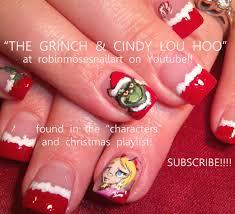 robin moses nail art christmas nail art christmas nails cute