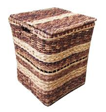 selinrail hamper baskets natural wicker and abaca lazada ph