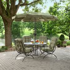 Patio Dining Sets For 4 by Jaclyn Smith Cora Dining Table With Lazy Susan Shop Your Way