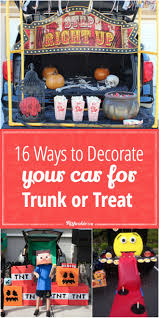 16 ways to decorate your car for trunk or treat tip junkie