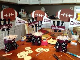 football centerpieces superbowl decorations ideas sulmin info