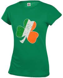 Shamrock Green Irish Colors Vintage Distressed Shamrock U0027s T Shirt