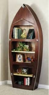 blueprints wood boat bookshelf plans