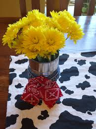 Cowboy Table Decorations Ideas Daily Dose Of Delight Cowgirl Birthday Party