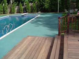 artistic concrete stamped concrete pool aprons pool decks rhode