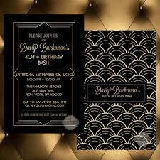 birthday invitation save the date wedding milestone 30th 40th 50th