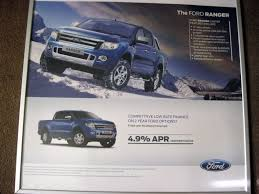 Ford Ranger Options Original Ford Showroom Poster For The Ford Ranger In Stockton On