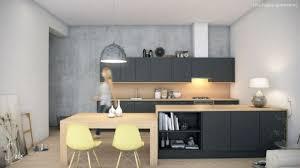 cuisine noir bois cuisine bois et gris stunning noir mat contemporary design trends