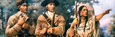 how many miles did lewis and clark travel images Sacagawea native american history jpeg