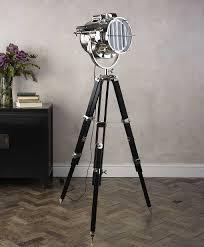 Tripod Floor Lamp Fresh Creative Tripod Floor Lamp Drum Shade 14435