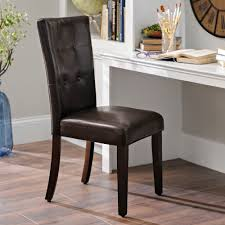 Leather Parsons Chairs Dining Room Chairs Kirklands