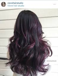 shag haircut brown hair with lavender grey streaks 3073 best hair images on pinterest hair ideas hair colors and