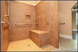 accessible bathroom design ideas accessible bathroom shower design for wheelchair accessible homes