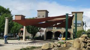Sail Canopy Awning Fabric Shade Sail Canopy Structures Commercial California Youtube