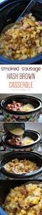 crockpot smoked sausage u0026 hash brown casserole lauren u0027s latest