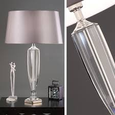 lamps buffet table lamps modern lighting crystal look table lamp