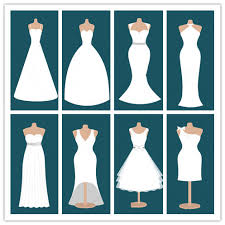 wedding dress guide the most flattering fit a brief guide to find the right type of