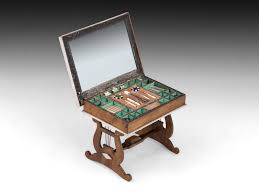 hampton house furniture antique walterhausen miniature sewing table dolls house furniture