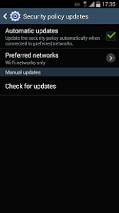 android security policy updates samsung security policy update android apps on play